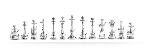 Evolution Glass Hookahs