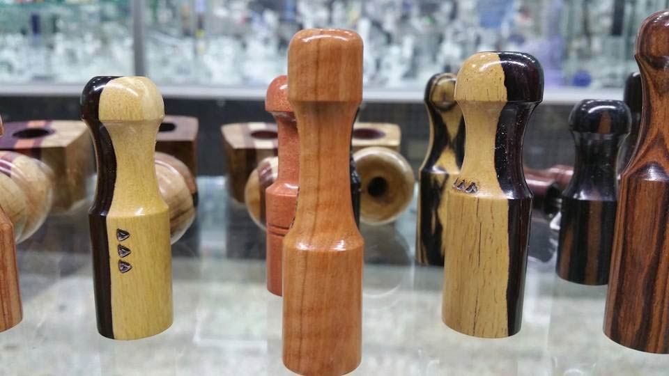Wooden Chillums