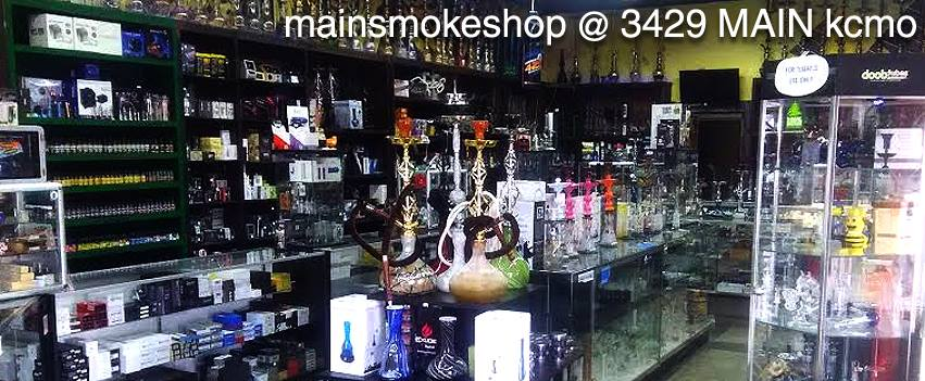 inside main smoke shop