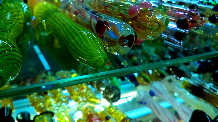 Glass Chillum Pipes