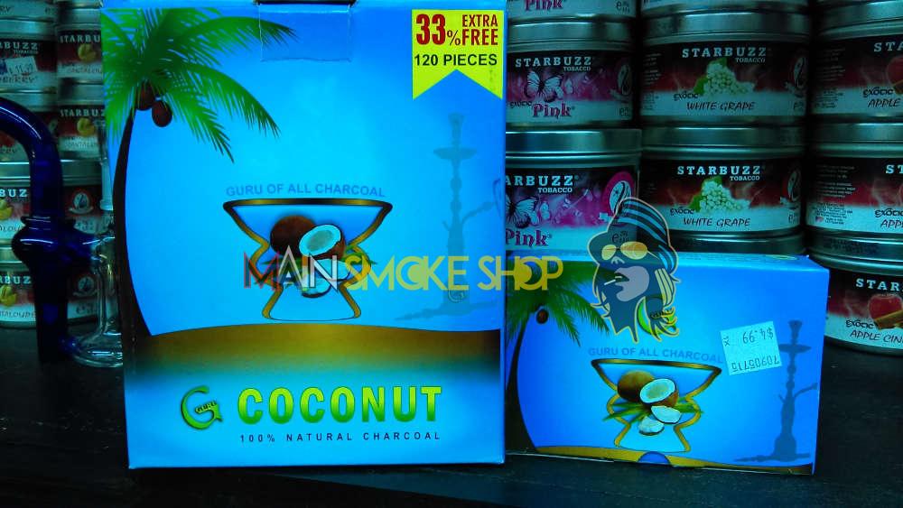 Guru Coconut Coals