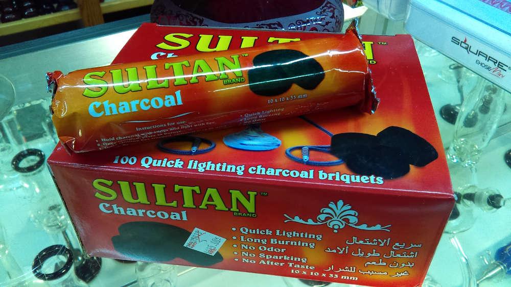 Hookah Charcoals : Sultan Quick Light