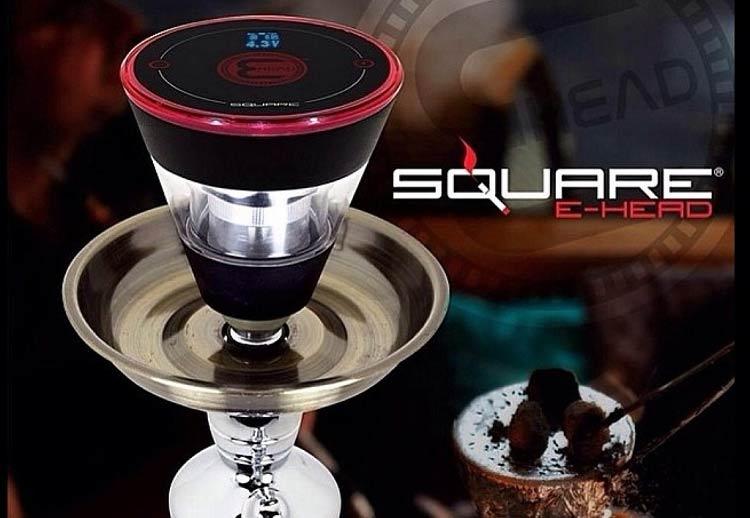 Square E-Head Hookah Bowl