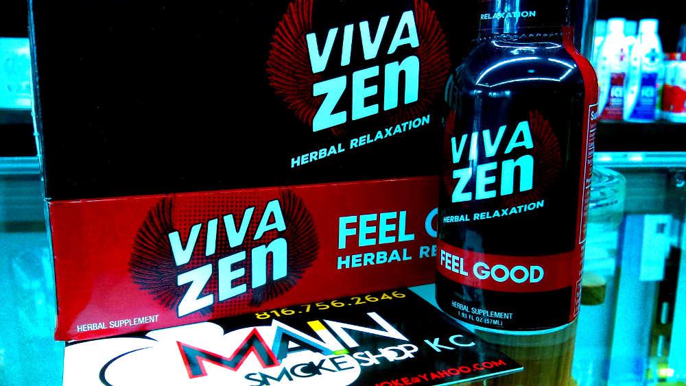 Viva Zen Liquid Kratom Shot KC