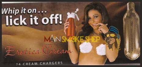 Erotica Cream Chargers