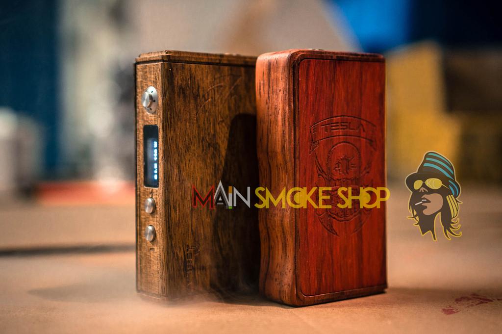 tesla wood box