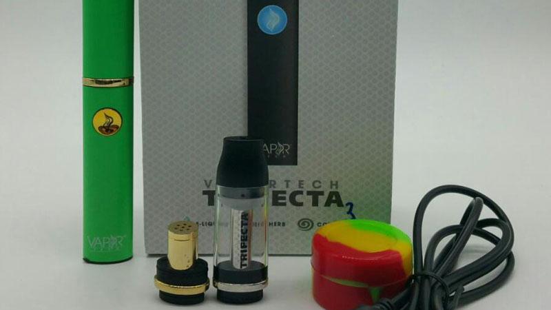 The Trifecta vape pen starter kit