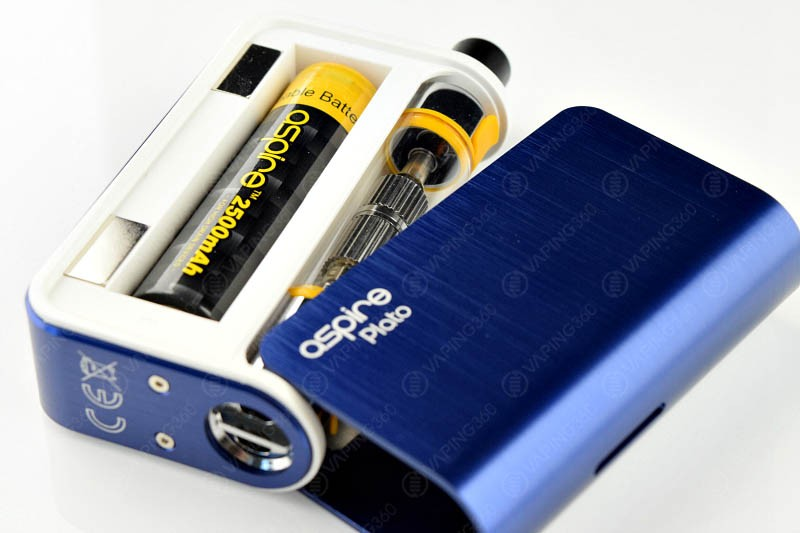 Aspire Plato E-Cigarettes -Battery-Compartment-Tank