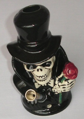 ceramic bong death rose