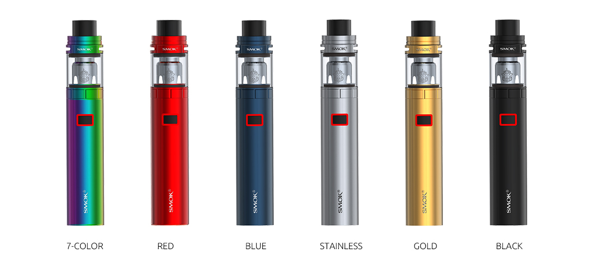 stick x8 Vaping Kit colors