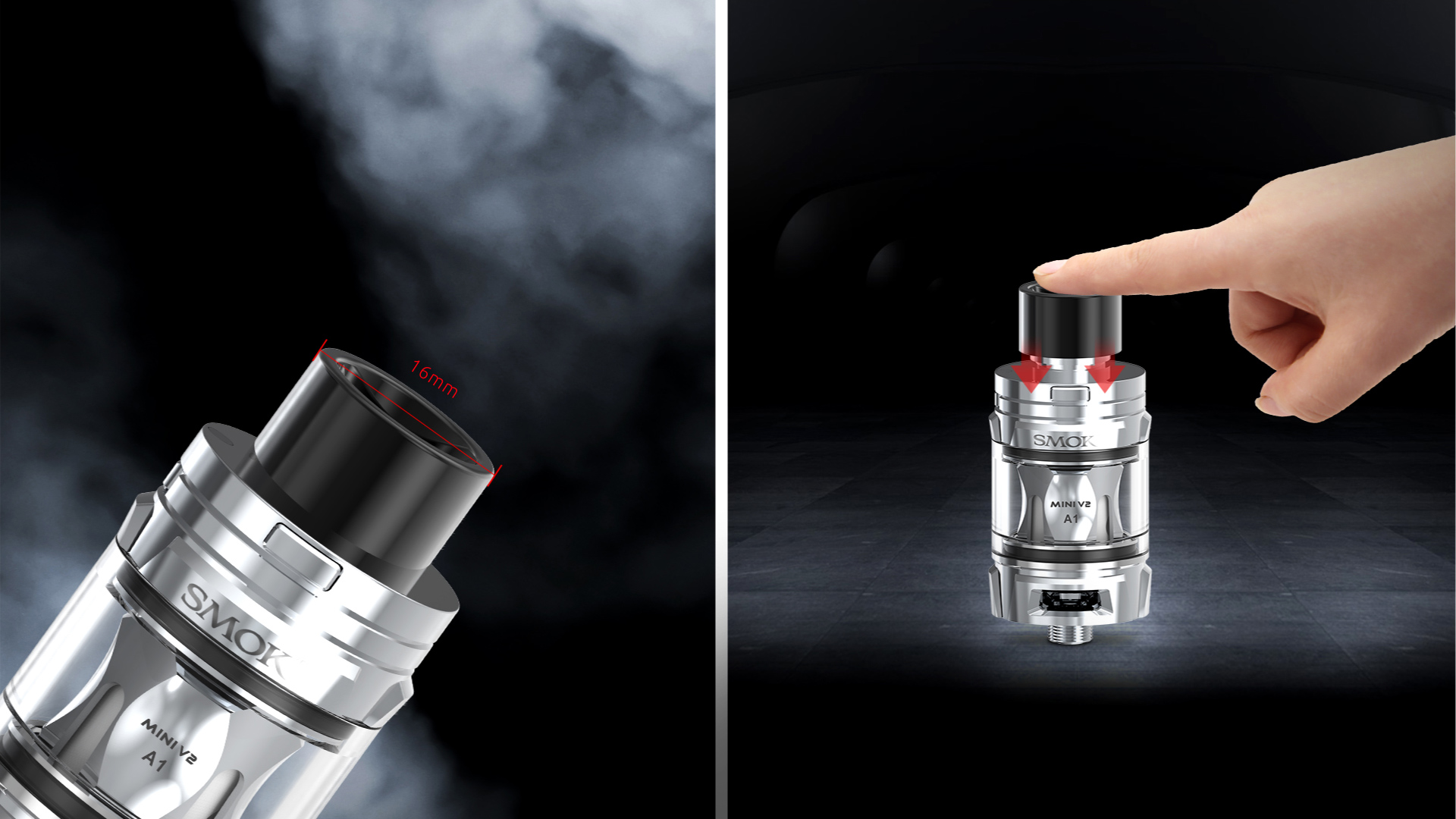 R-Kiss E-Mod MINI EXCLUSIVE DELRIN DRIP TIP