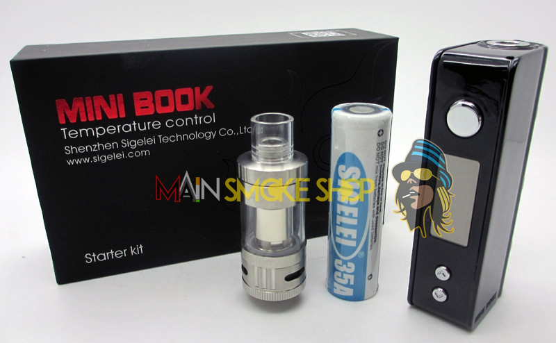 Sigelei Mini Book Vaping Kit