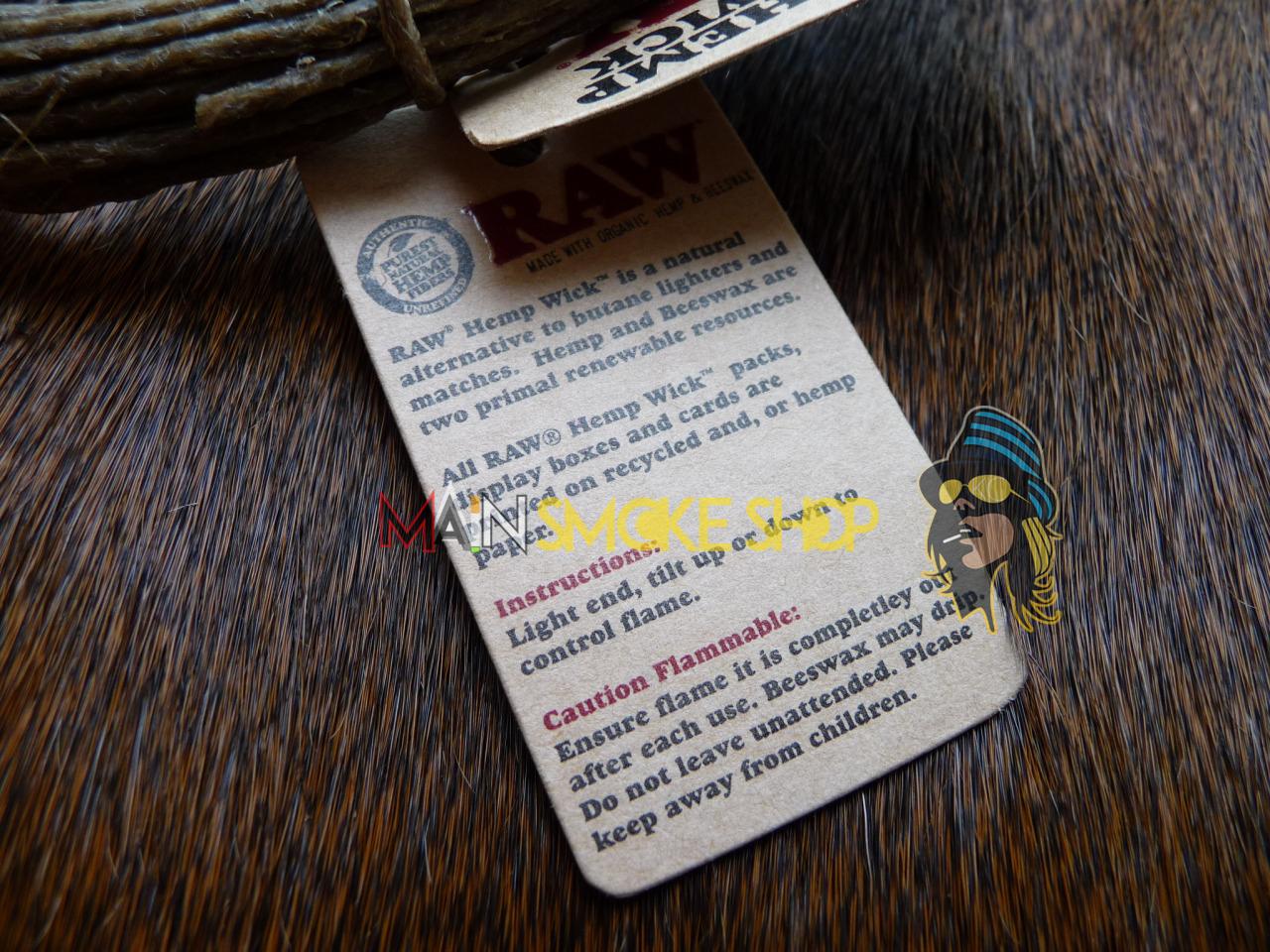hemp wick instructions