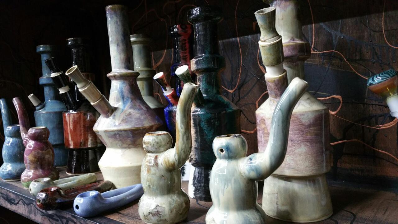 Ceramic Handmade Water Pipes