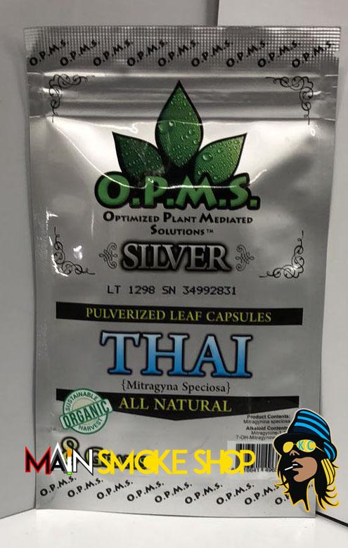 OPMS Silver Thai Kratom Powder
