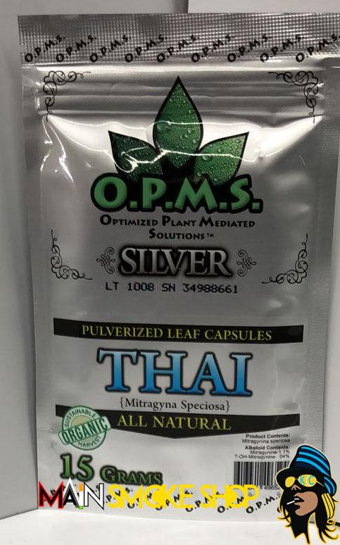 Opms silver thai 15 grams kratom`