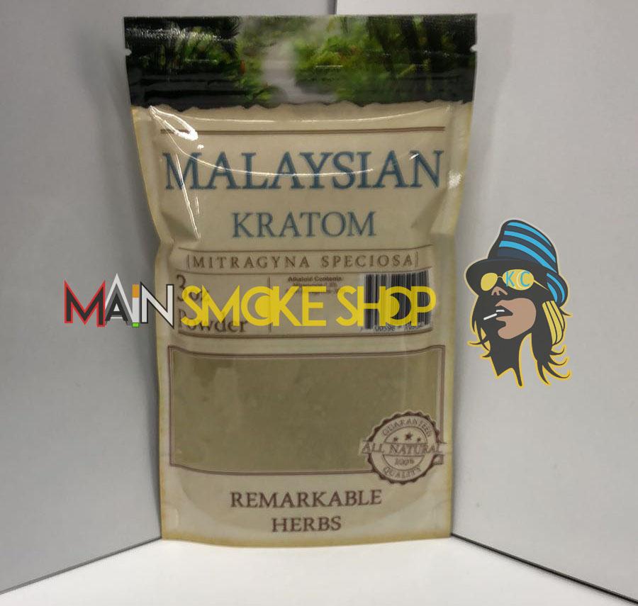 Remarkable Herbs Malaysian Kratom 3oz Kratom Powder