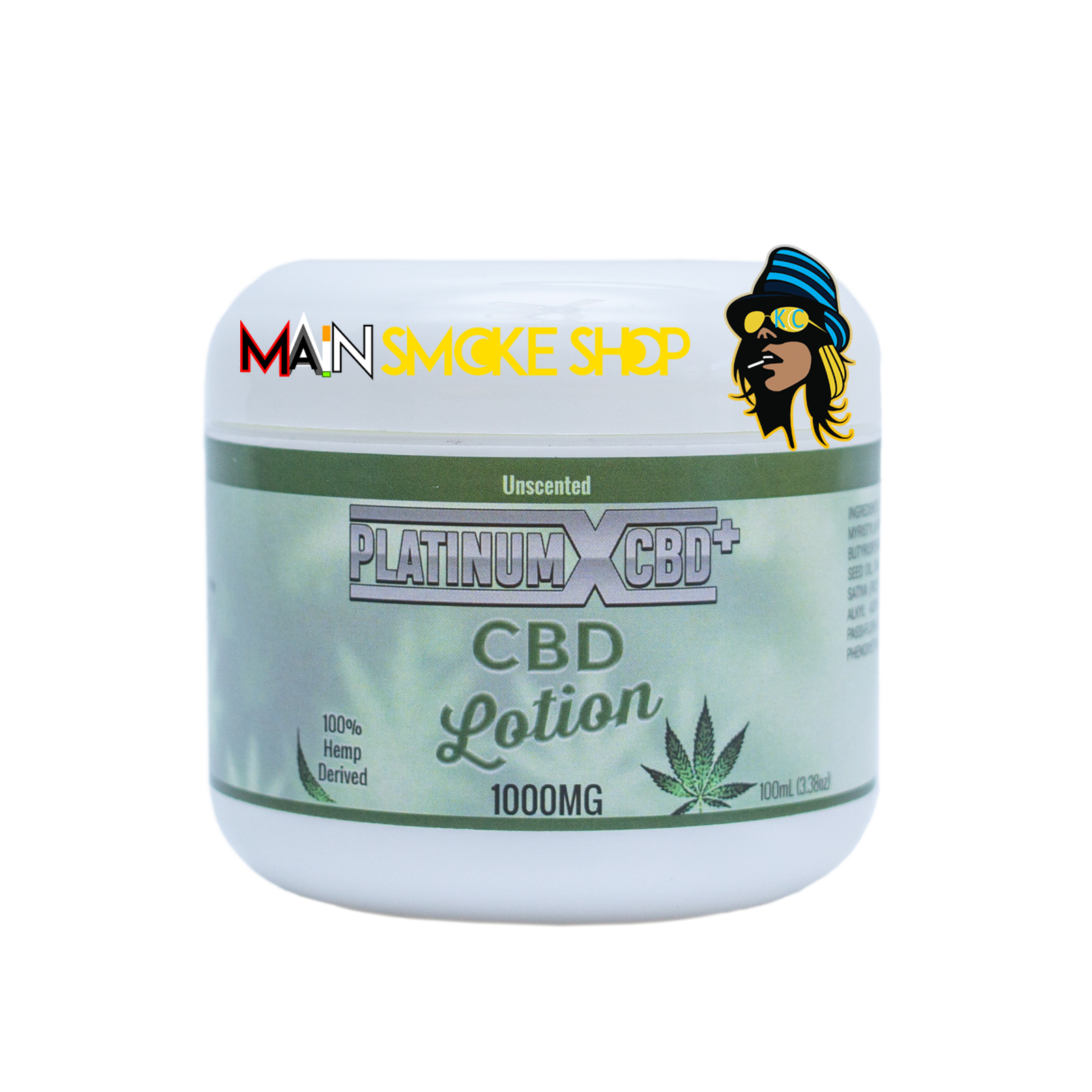 Platinum CBD lotion