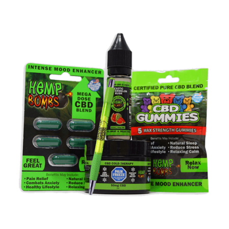 Hemp Bombs CBD Gummies, Strongest on the Market
