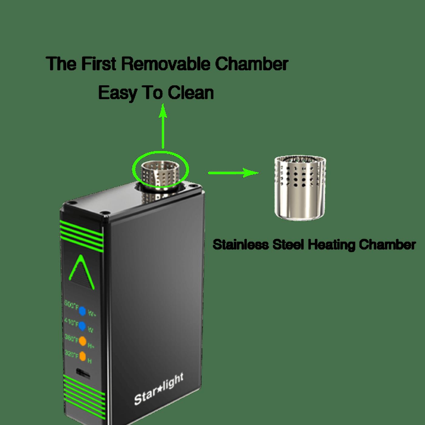 Starlight Vaporizer Heating Chamber