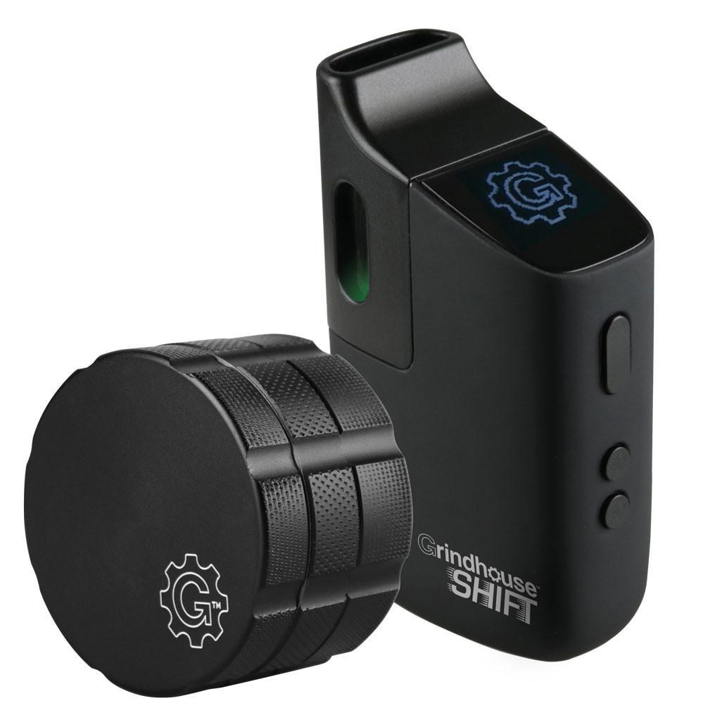 Grindhouse Shift Vaporizer Grinder and Device