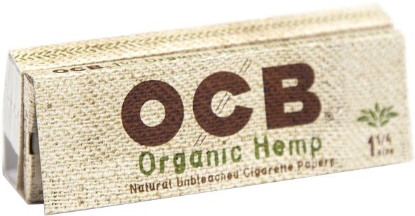 OCB organic hemp paper