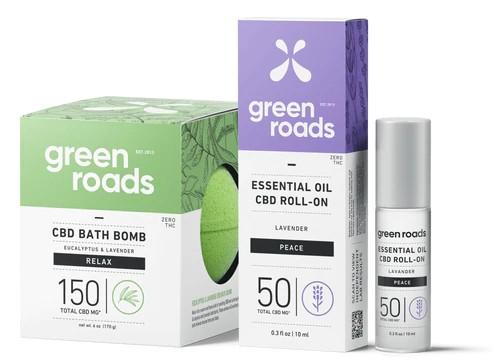 Grean road CBD Hemp bomb bath soap