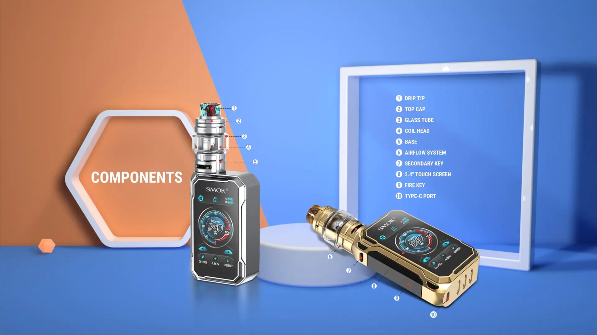 Smok G Priv 3 components