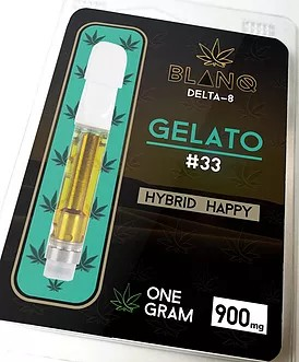 CBD Detla 8 Cartridge Pen